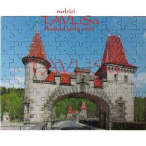 Puzzle Tešnovská přehraha 90 dílků obrázek 2